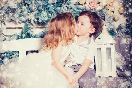 30分間のキスが、アトピーを抑えてくれる?